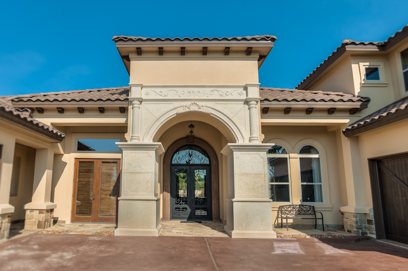 Mediterranean custom home destiny builders inc Mediterranean custom homes